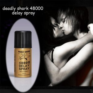 Deadly Shark Power 48000 Delay Spray | Best Delay Sprays & Creams For Men | Adult Products India | Adultjunky