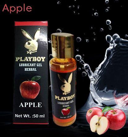 PlayBoy Herbal Lubricant Gel - Apple Flavour 50ml