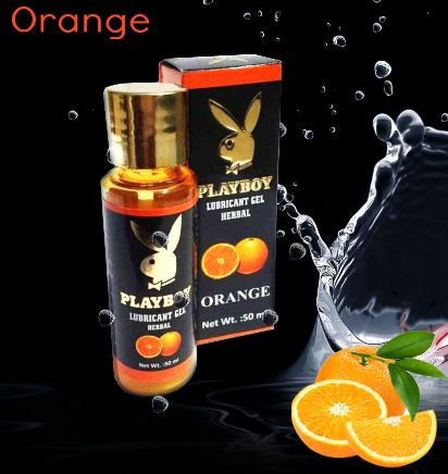 Playboy Herbal Lubricant - Orange Flavour 50ml